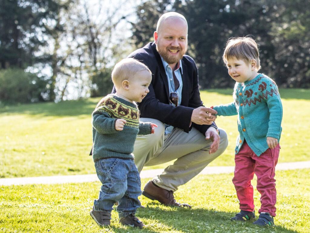 Jacob Kjellerup og børn