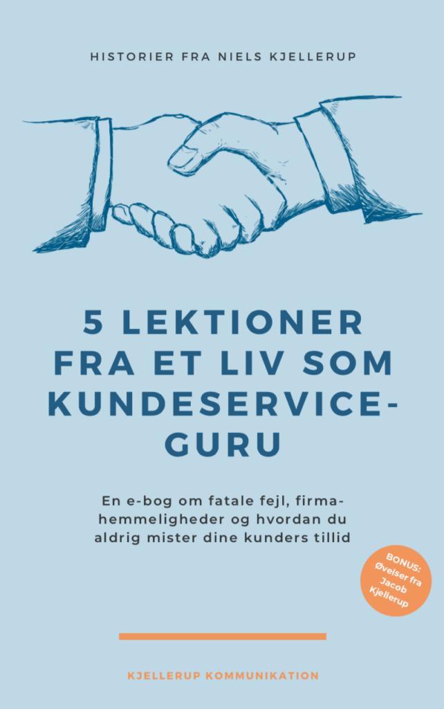 Niels Kjellerup e-bog om god kundeservice