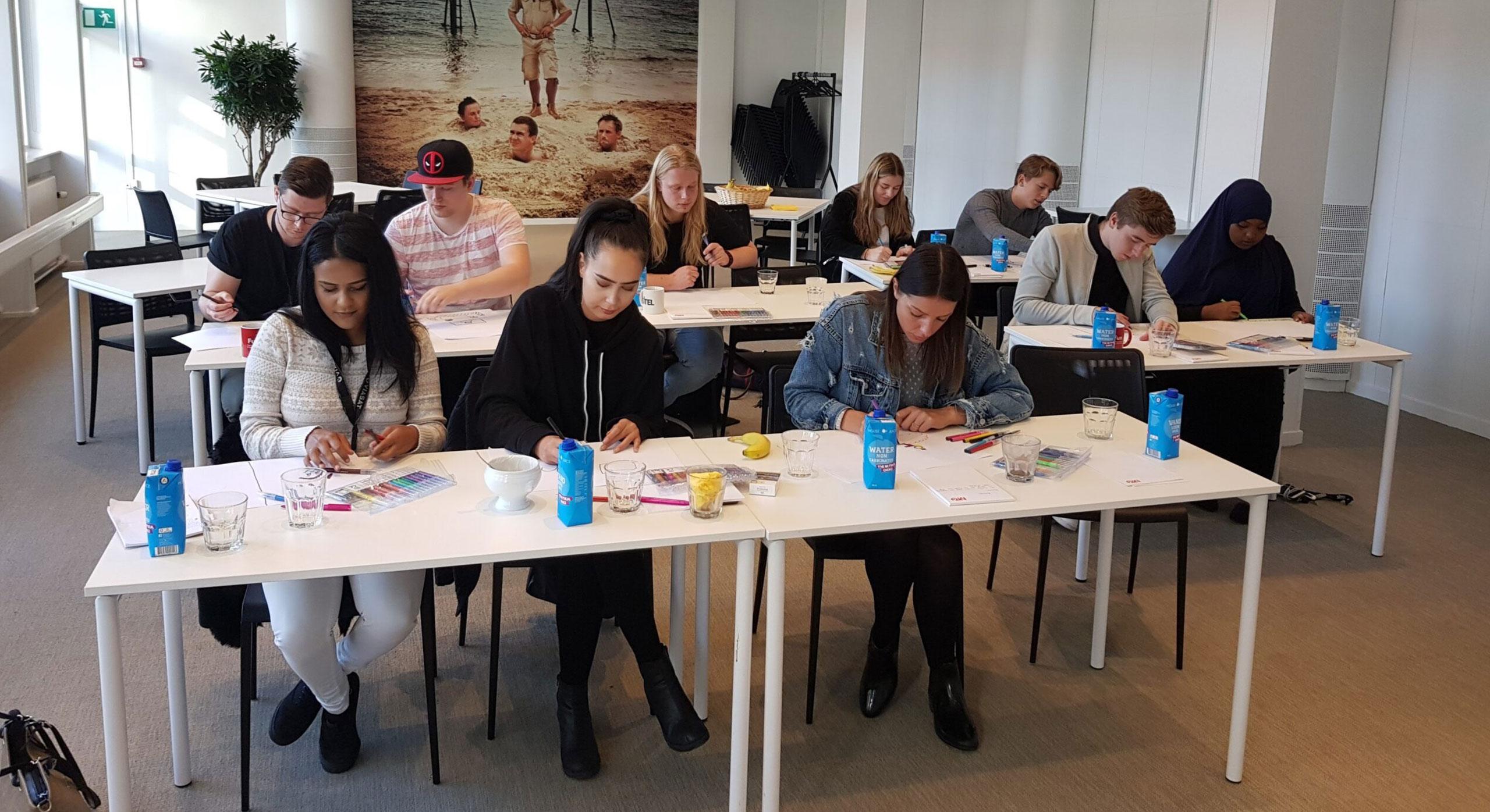 Jacob holder workshop for medarbejdere i kundeservice