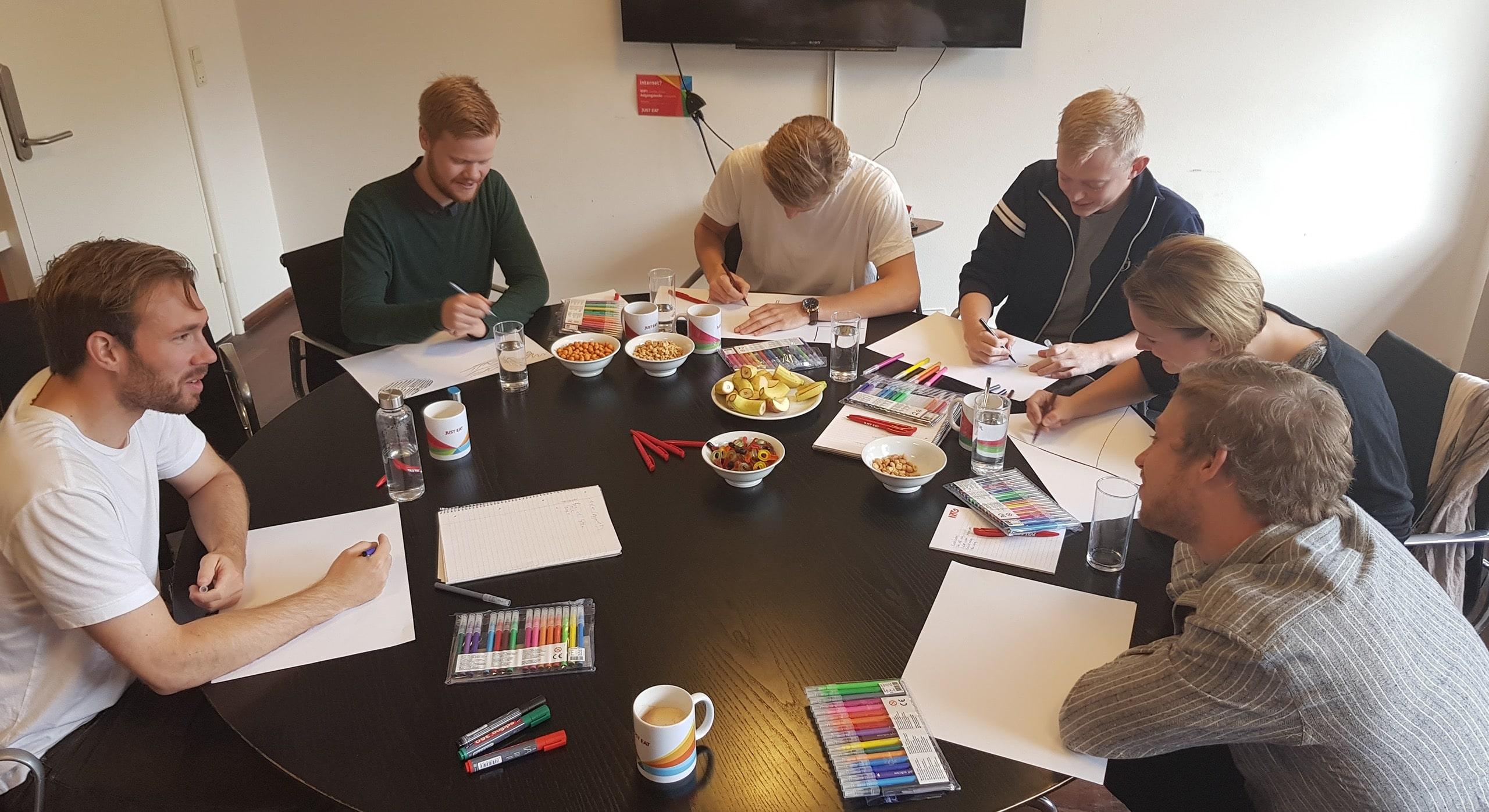 Workshop med Jacob ved Kjellerup Kommunikation
