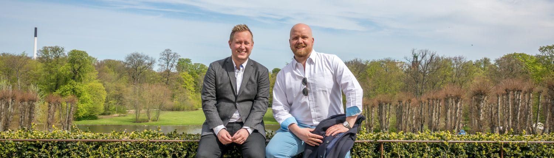 Jacob Kjellerup og Steffen Ekelund