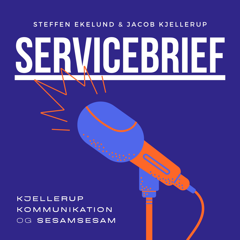 Podcast Servicebrief logo